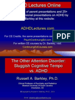 Adhd Lectures