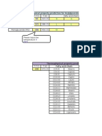 Demo Table of Prediction Methods for Feed Oil and Biodiesel Properties