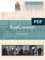 EsaConsort - a cappella male vocal ensemble