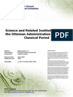 Ottoman Institutions in Classical Ottoman Period