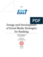 Design and Development of Social Media Strategies in Banking_2013