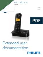 Philips D200 Phone