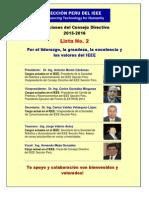 IEEE Plan de Trabajo 2015-2016