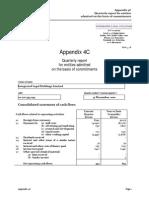 112.ASX IAW Feb 1 2011 10.04 Appendix 4C Quarterly