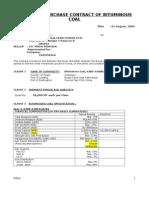 draft contrac bituminous coal KOPEC-TRIAL 100KMT.doc
