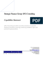 SFG Consulting Capabilities Statement
