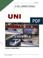 Manual de Diseño de Carreteras
