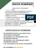 HIDROGRAFIA ROMÂNIEI 1