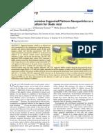 Tungsten Carbide Nanotubes Supported Platinum Nanoparticles as A