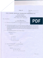 Operations Research (Sep 2011 Reg)
