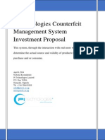 Pitech Counterfeit Management System Investment Proposal Final Ver1