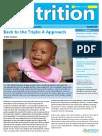 UNICEF ESARO Nutrition Newsletter 2014