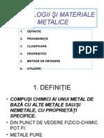 materialemetalice PROPRIETATI