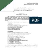 Regulament Pentru Eliberarea Si Folosirea Permiselor de Libera Trecere BRASOV