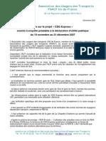 Avis_AUT_CDG EXPRESS Décembre 2007 20 Janvier 2015