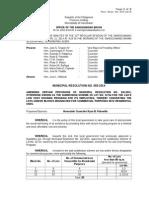 055-2014 Amendment of Housing Program Reso