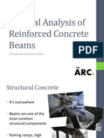 Tristan Larson Flexural Analysis of Reinforced Concrete Beams Workshop