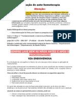 Manual Aplicacao Auto Hemoterapia