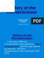 History of the Microprocessorsss