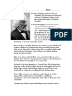 Narrative Of The Life Of Frederick Douglass Worksheet ...