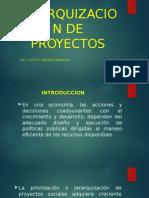 10. Jerarquizacion de Proyectos