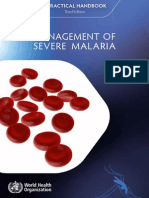 Management of Severe Malaria (1)