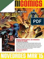 Novedades PANINI MAR'15 Marvel