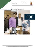 Magnini prenota già il suo futuro - Il Resto del Carlino del 18 gennaio 2015