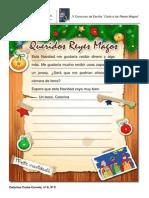 Carta a Los Reyes Magos - 9ºC