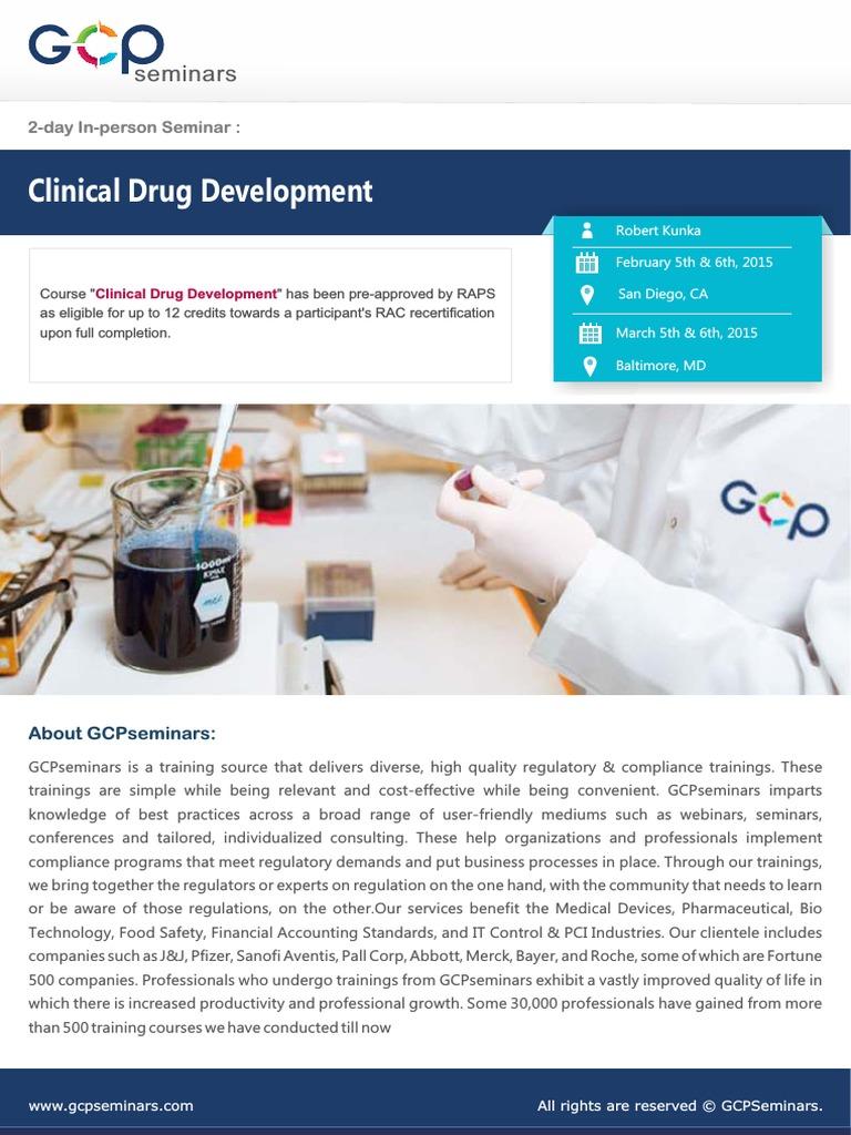 clinical drug development