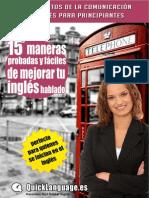15 estrategias fáciles y probadas de mejorar tu inglés