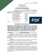 104-2014 Amending 102-2014 MOA BU Land Hospital