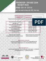 Cursos Lengua Árabe 2014/15