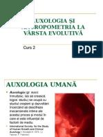 Auxologia Şi Antropometria La Vârsta Evolutivă