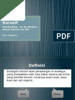 Esofagitis Korosif