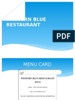 Western Blue Restaurant