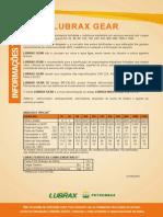 Óleos Lubrificantes Para Engrenagens - LUBRAX GEAR