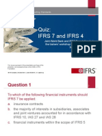 6. Quiz Ifrs 7 and Ifrs 4