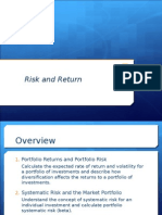 Risk and Rates of Return Updated