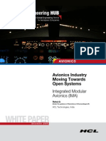 Avionics Industry Moving Towards Open Systems