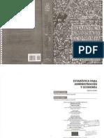 Estadística Para Administración y Economía - LEVIN - 7a Ed