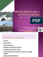 Teknelogi Beton. Beton Bertulang I (Ketentuan Desain).ppt.pdf