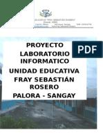 Proyecto Centro de Computo Uedfsr
