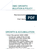 2 Growth, Accumulation and Policy