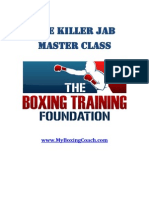 Killer Jab Master Class