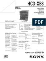Manual de Servicio Sony_hcd-xb8