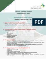 DRTP ( FAQs)