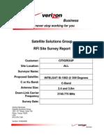 Site RFI Survey Report Template Version 10082008 C