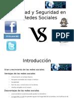 Privacidad y Seguridad en Las Redes Sociales Presentacion RedesZone