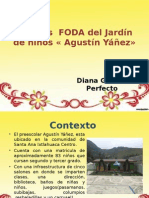 Análisis FODA Del Jardín de Niños « Agustín